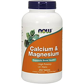 NOW Cal-Mag 500/250mg,250 Tablets