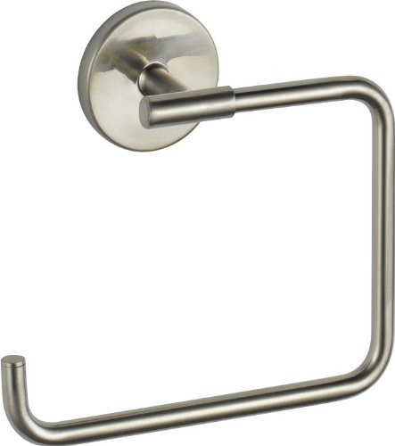 Delta Faucet 759460-SS Trinsic, Towel Ring, Stainless (Trinsic Towel Ring)