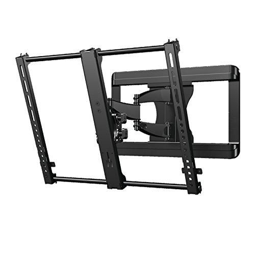 "Sanus Premium Full Motion TV Wall Mount Bracket for 37""-50"" TVs Features 15º of Tilt, 90º of Swivel, & Post Install Centering - VMF620-B1"
