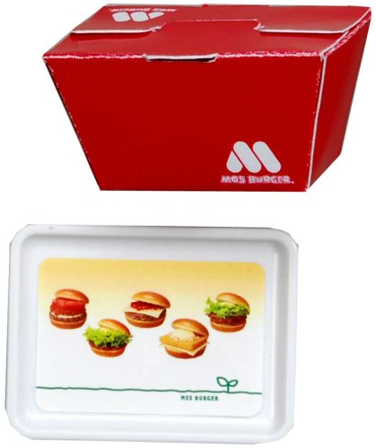 Licca Chan Mos Burger Accessory Set - Red Box
