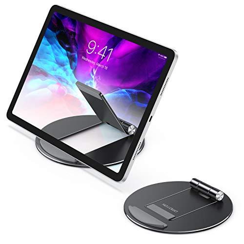 soporte stand multi angulo para tablets ipad omoton negro