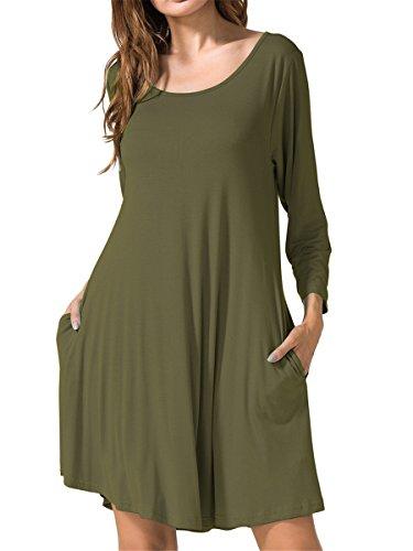 3/4 sleeve dress shirt - 2