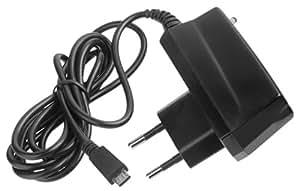 YAYAGO Micro USB-Cargador de pared para ZTE Nubia Z7/Z7 negro, Mini-fulminea a 2,0 de carga