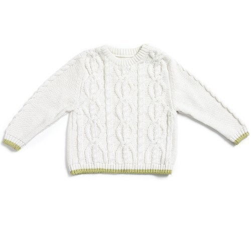 Natures Purest Kids Cable Knit Jumper (24 months)