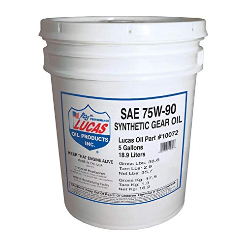 Top 10 synthetic gear oil 5 gallon