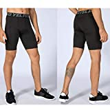 Mens Running Compression Shorts with Pocket Workout