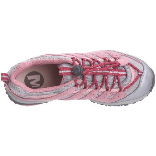 Merrell - Zapatillas de ante para niño rosa rosa