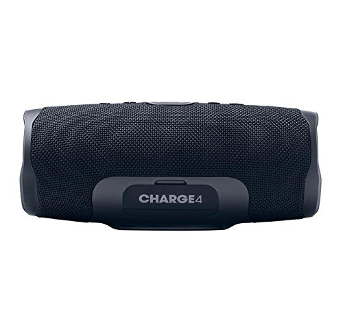 JBL Charge 4 Portable Waterproof Wireless Bluetooth Speaker Bundle with USB Bluetooth Adapter - Black