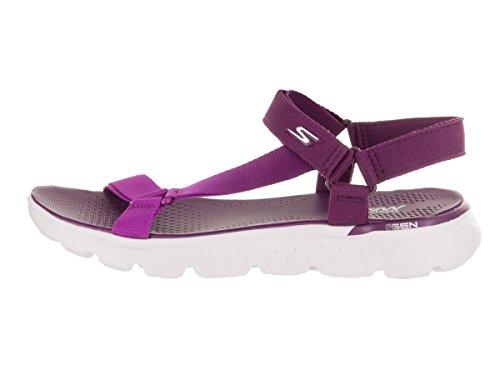 Skechers Damen On The Go 400 Jazzy Sandale Lila