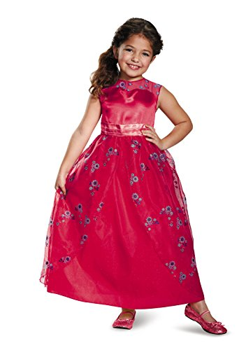 Disguise Elena Ball Gown Classic Elena of Avalor Disney Costume, X-Small/3T-4T (Halloween Costume Disney Princess)