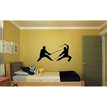 Martial Arts Karate Vinyl Wall Decal  sc 1 st  Amazon.com & Amazon.com: Martial Arts Karate Vinyl Wall Decal: Home u0026 Kitchen