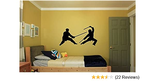 Amazon.com: Martial Arts Karate Vinyl Wall Decal: Home & Kitchen