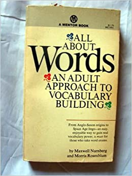 All about words by nurnberg and rosenblum