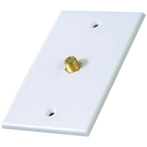 RCA Coaxial Single Plate White