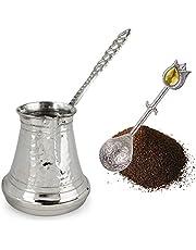 Turkse koffiepot Cezve (Verzilverd, 6 porties)