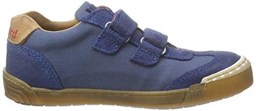Bisgaard Unisex-Kinder Velcro Shoes Low-Top Blau (150 Dark denim)