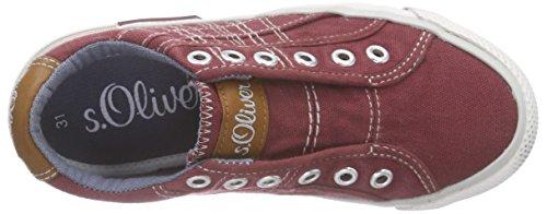 s.Oliver 43203 - Zapatillas Unisex Niños Rojo - Rot (BORDEAUX 549)