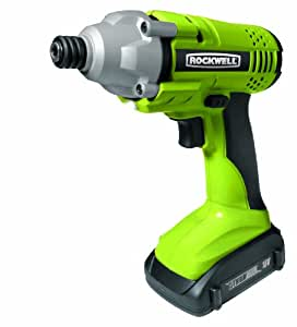 Rockwell RK2800K2 18-Volt Lithiumtech Lithium-Ion Cordless Impact Driver