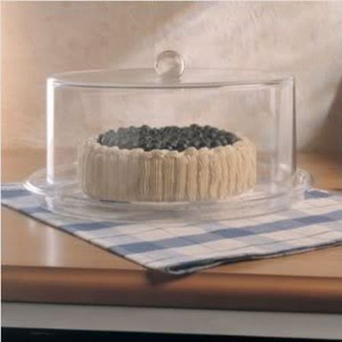 - Grainware 70371 Cake Plate with Dome - 13.5 in.
