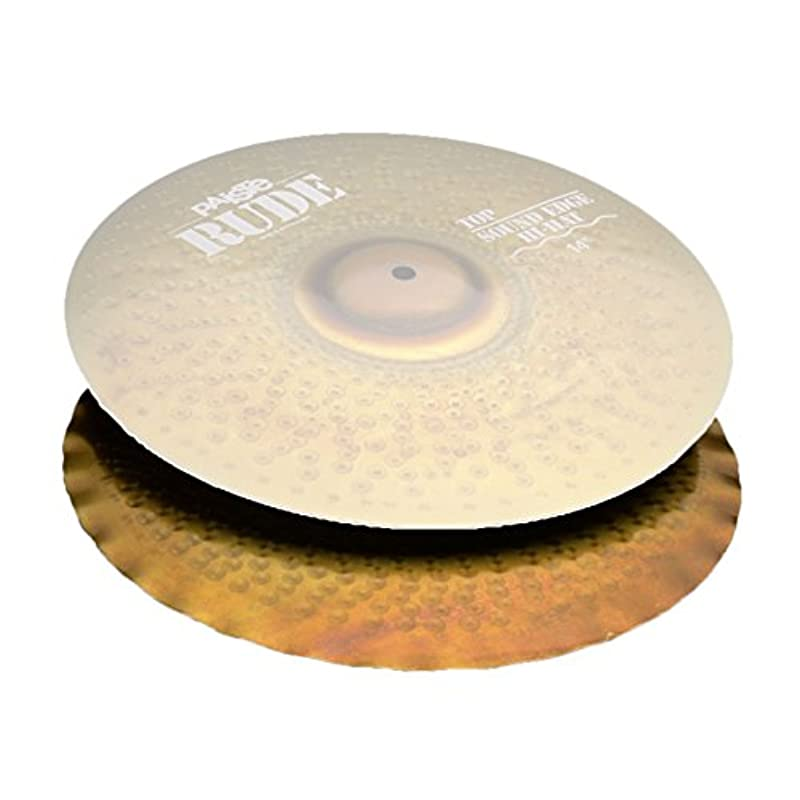 PAISTE RUDE Sound Edge Hi-Hat BOT 14
