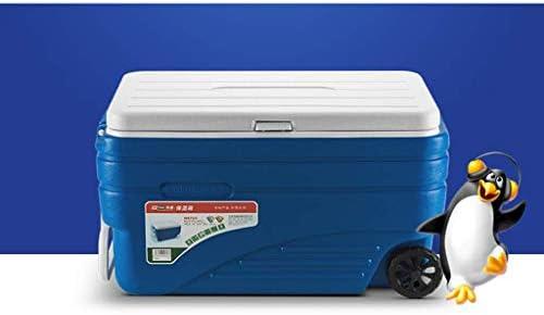 ZAIHW 47L balanceo Ice Cool Box Nevera portátil Bebidas contenedor ...
