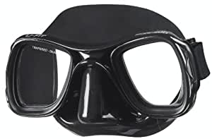 SEAC Spearfishing U-fit S/BL Mask (Black)