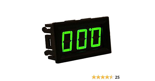 10PCS Green LED Panel Meter Mini Digital Voltmeter DC 0V To 30V NEW GODD QUALITY