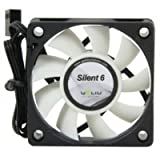 Gelid FN-SX06-38 60mm Silent6 Case Fan High Airflow & High Static Pressure
