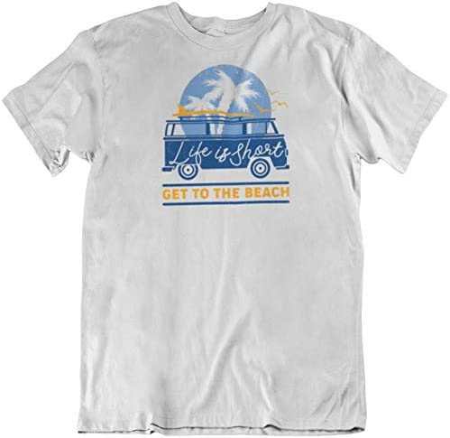 Make Your Mark Design Life Is Short Get To The Beach. Beach Souvenir T Shirt For Men And Women