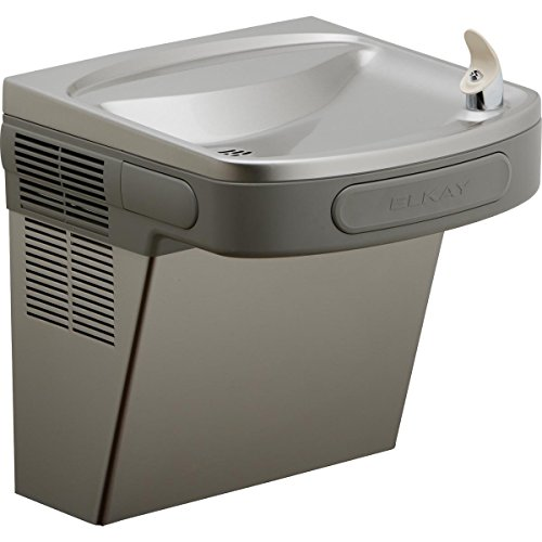 - Elkay EZS8L Wall Mount Non-Filtered ADA Cooler, 8 GPH, Light Gray Granite