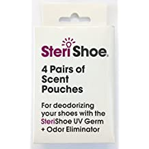 SteriShoe Scent Pouch - For Use with SteriShoe Ultraviolet Shoe Sanitizers