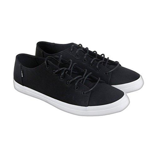 DVS Hombres del edmon Skate zapatos, color negro/blanco, 9 UK color negro/blanco