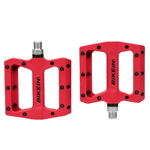 - BIKEIN PRO Mountain Bike Pedals Platform Flat Pedal Sealed Bearing 9/16