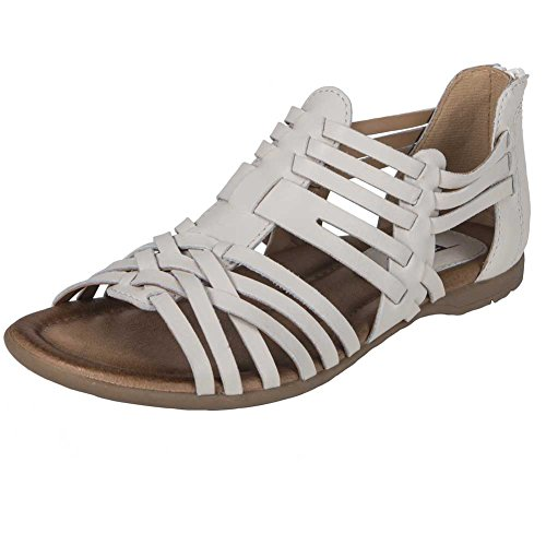 Off Bonfire Earth Sandal Womens 6 White n0qzzPfCw
