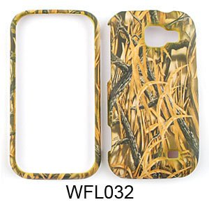 SAMSUNG M920 / Transform CAMO CAMOUFLAGE HUNTER Shedder Grass - HARD PROTECTOR COVER CASE / SNAP ON PERFECT FIT (M920 Snap)