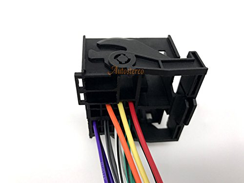 Autostereo Auto car stereo audio harness adapter cable for RENAULT 2009 12-127 ISO standard Wiring HARNESS RADIO Adapter FOR RENAULT 2009 Wire Harness for Car Stereo CD Player Plug Autostereo TECH