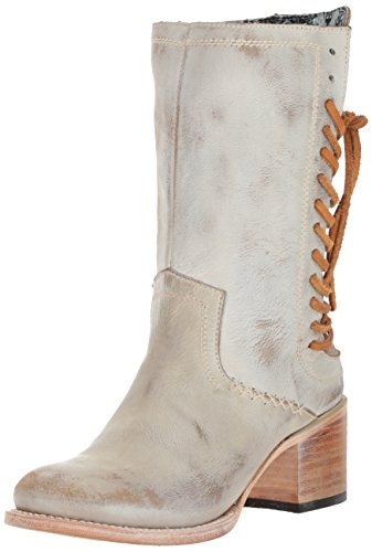Freebird Women's coble Western Boot, Ice, 7 B (White Laced Boots)