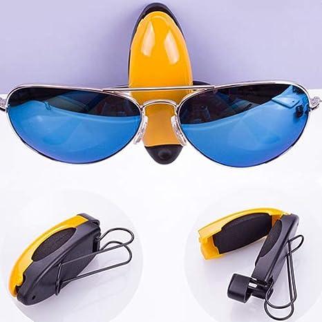 Universal Auto Sonnenblende Brille Clip Mode-Design Auto Sonnenschutz Brillen Ticket Clip Halter longyitrade