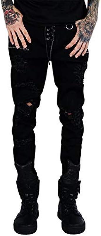 Killstar Denim Jeans spodnie - Diablo: Odzież