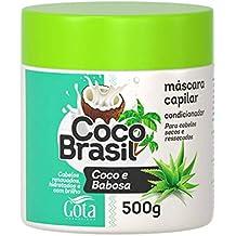 Creme Tratamento 500G Coco e Babosa Unit, Gota Dourada