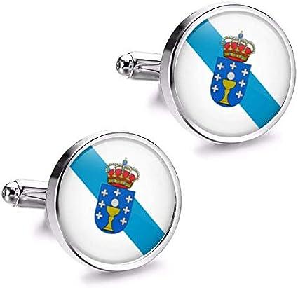 Gemelolandia | Gemelos de Camisa Magglass Bandera de Galicia ...