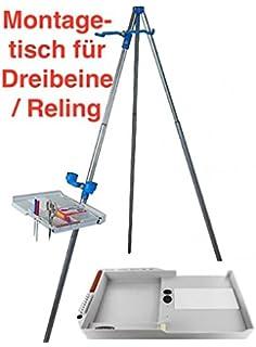 Zubeh/örablage f/ür Rutenhalter Dreibein Podpod Tripod usw Expert Anglers Ablage-Fach MK466 Rohr