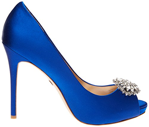 Badgley Mischka Kvinna Jeannie Pump Safir