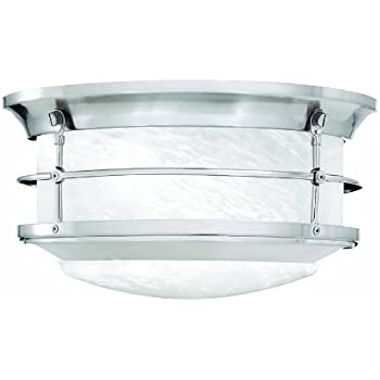 thomas lighting sl928378 newport outdoor ceiling light brushed
