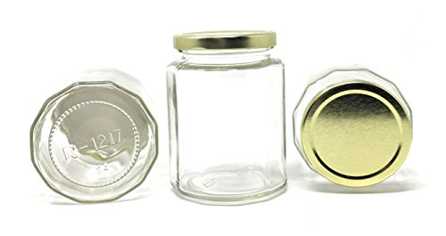 16 oz glass jars with lids - 8