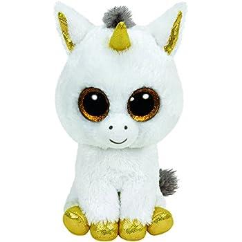 37c75162cbf Amazon.com  Ty Beanie Boos Treasure - Unicorn (Justice Store)  Toys ...