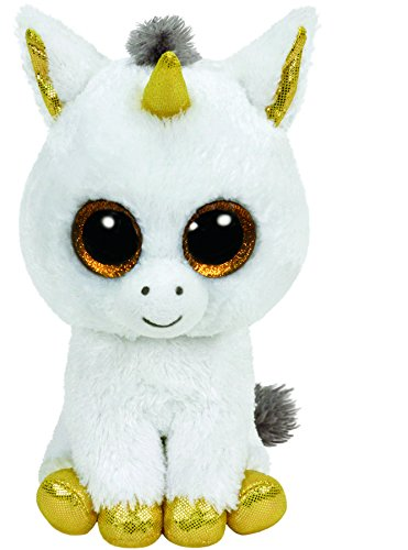Ty - Beanie Boos Pegasus, Unicornio, 15 cm, Color Blanco (United Labels Ibérica 36179TY): Amazon.es: Juguetes y juegos