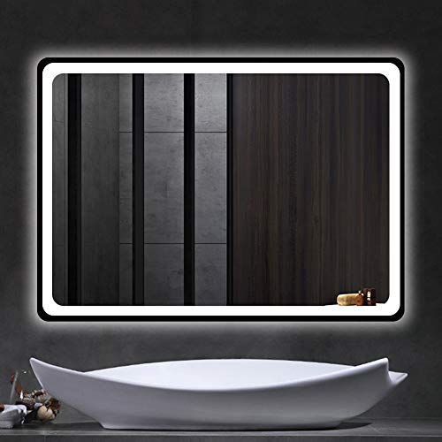 Beauty4U Bathroom LED Rectangle Mirror 32