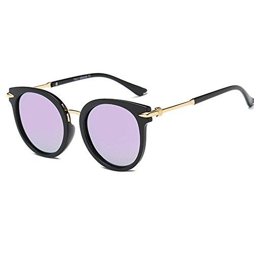 Aoligei Européen et américains transfrontalière hommes / femmes lunettes simples élégantes lunettes de soleil rétro tendance lunettes cent tours Sunglas Ses lNqqM