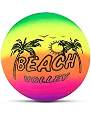 TOSOTO Beach volleyball, rainbow beach volleyball, rubber beach volleyball, summer and swimming pool, swimming, garden, childrens games